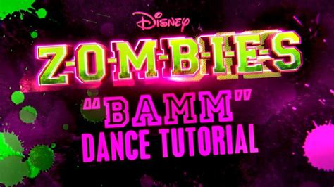 tutorial dance zombie bamm dance tutorial zombies disney channel youtube