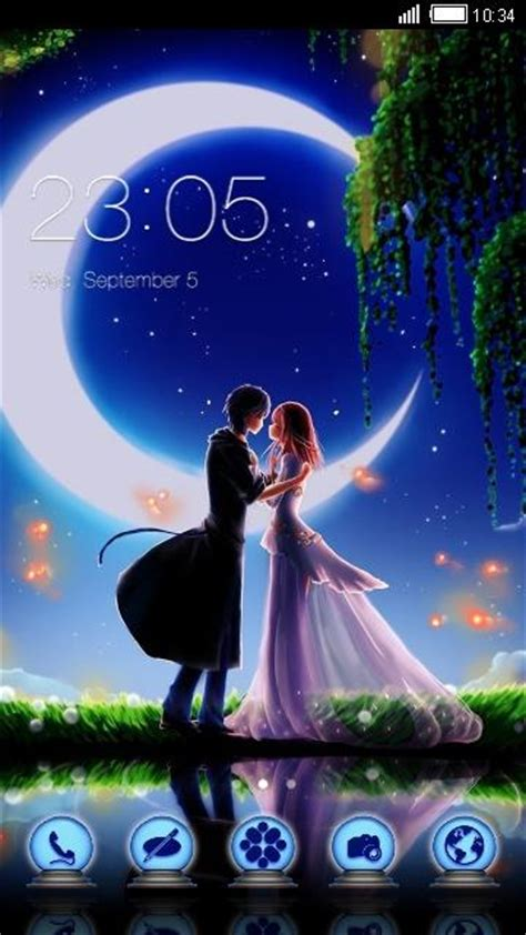 romantic themes for android free download romantic theme moonlight night romance hd thames