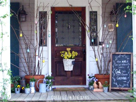 spring porch decorating ideas striking spring porches doors and entryways jenna burger