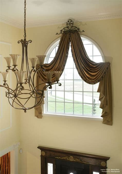 Foyer Windows foyer window treatment idea for the home