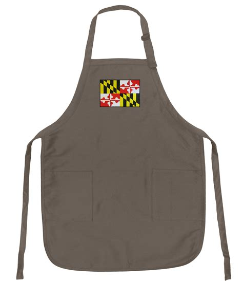 apron pattern with adjustable neck strap maryland aprons unique gifts men or ladies adjustable neck
