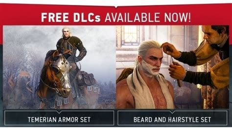 beard and hairstyles dlc more free witcher 3 visual dlc this week the witcher 3