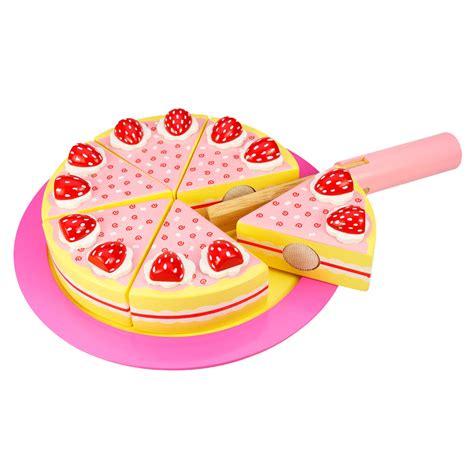 speelgoed eten hema houten verjaardagstaart aardbei online kopen lobbes nl