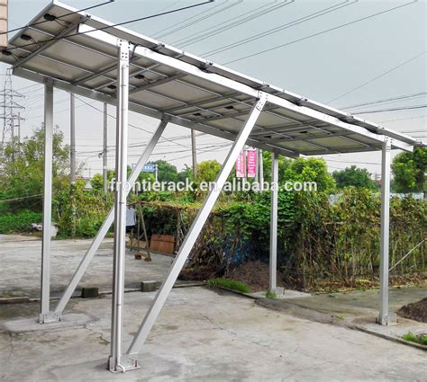 Carport Parts High Quality Protection Steel Frame Solar Carport Parts