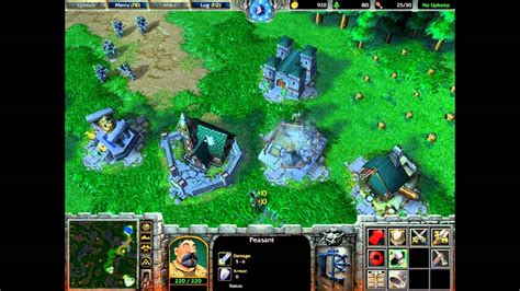 warcraft v 3 ghostlands warcraft iii reign of chaos gameplay part i youtube
