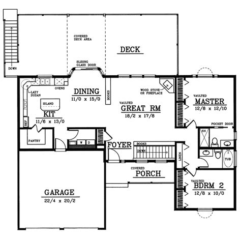 cheerful ranch house plan 22070sl 1st floor master suite cad available corner lot pdf belton ranch home plan 015d 0172 house plans and more
