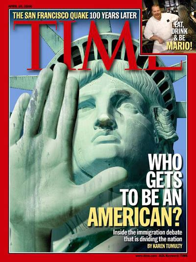 Gets An Cover by Time Magazine Cover Who Gets To Be An American Apr 10