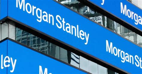morgans stanley stanley reports q4 earnings
