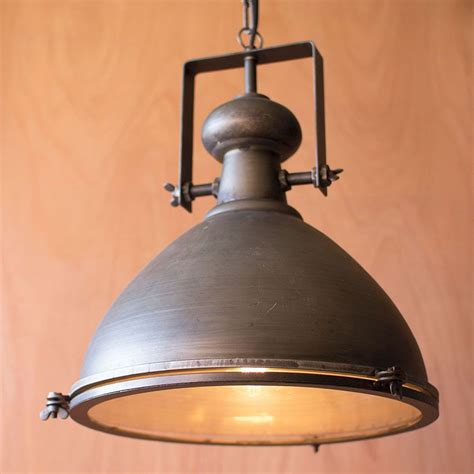 rustic metal glass pendant dotandbo com i would take