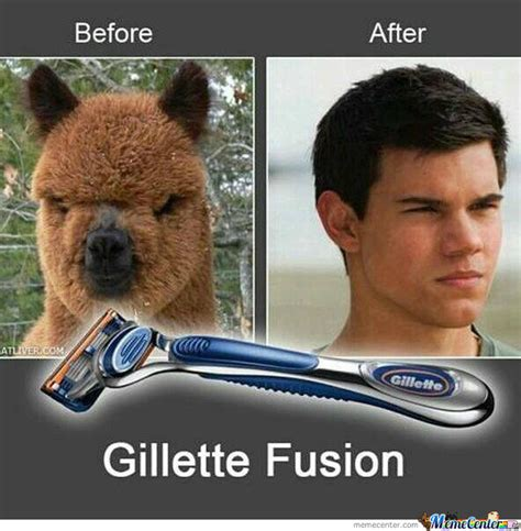 Before And After Meme - before and after with gillette fusion by carinasofiar