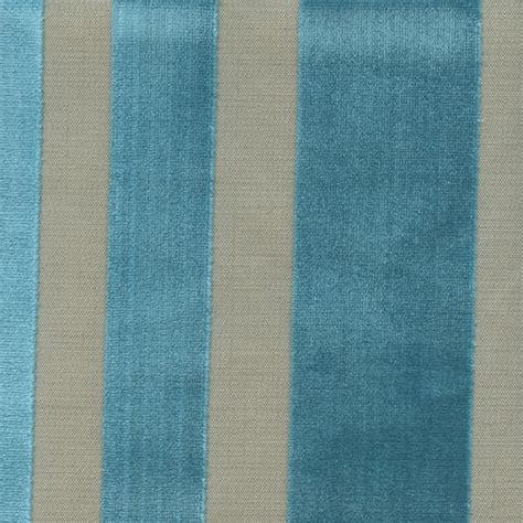 striped velvet upholstery fabric cayman laguna blue cut velvet vertical stripe upholstery
