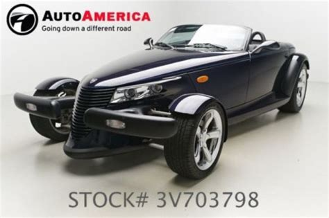 auto air conditioning repair 2002 chrysler prowler seat position control sell used 2002 chrysler prowler in oakland new jersey united states for us 7 000 00