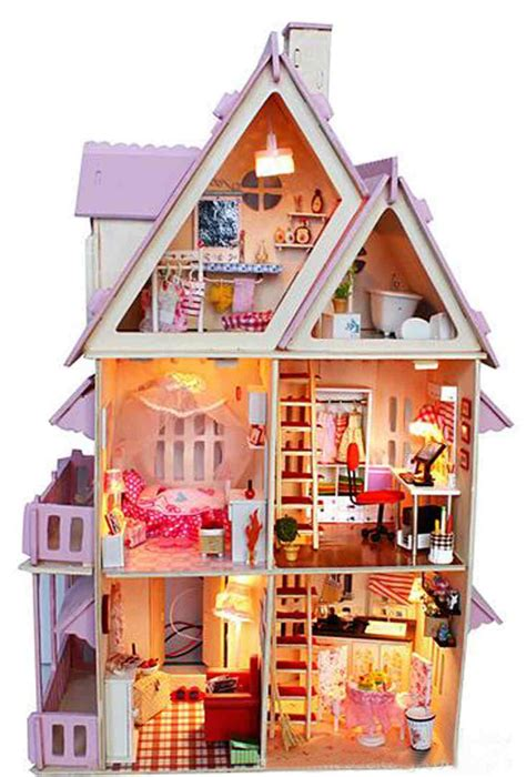 cheap wooden doll house online get cheap wood castle furniture aliexpress com alibaba group