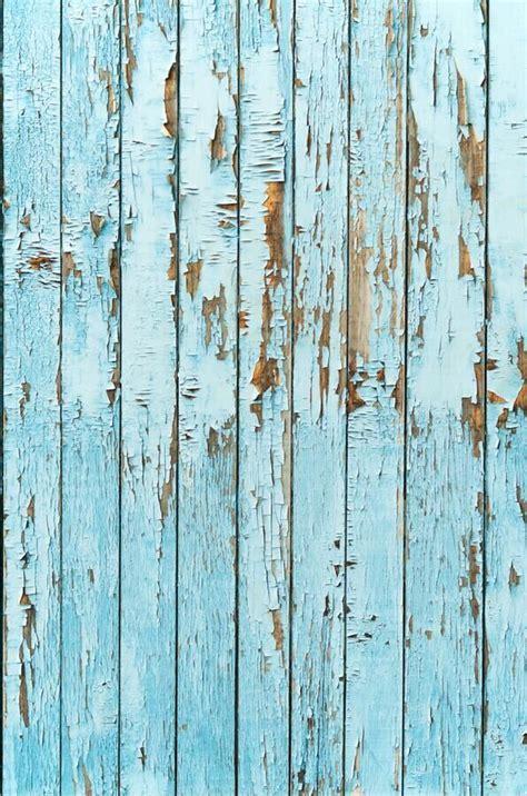 Blue wood weathered siding wall vinyl cloth photo studio