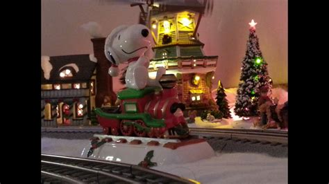 christmas train layout  merry christmas charlie brown youtube