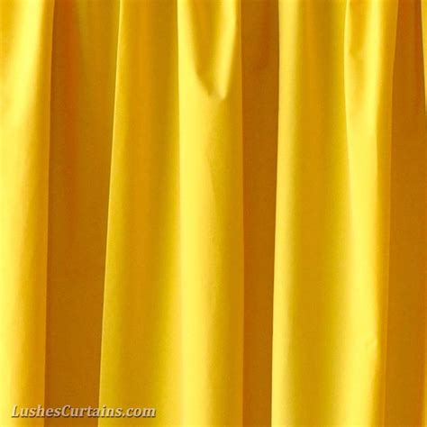 Bright Yellow Curtains Custom 16 Ft High Bright Yellow Velvet Curtain Theatrical Panel Drape Ebay