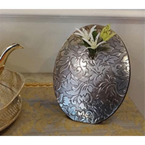 Damask Vase by Nickel Silver Flower Vase Damask Flower Vase Rq Home