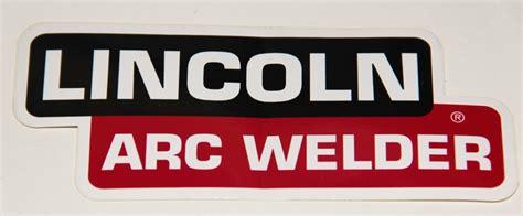 lincoln welder stickers lincoln arc welder decal 6 quot pl1063 p l welder