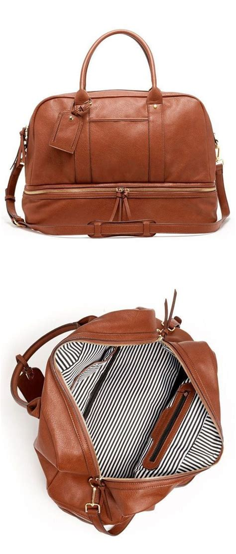 weekender bag with shoe compartment best 25 weekender bags ideas on weekend bags