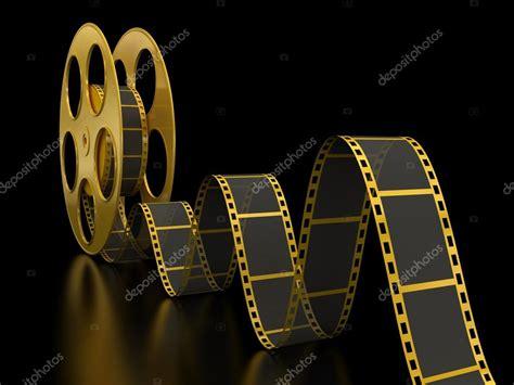 film it drogówka gold film reel stock photo 169 panama555 31778281