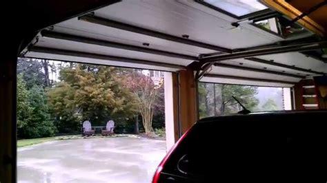 Garage Door Opens After Closing Garage Door Opening And Closing