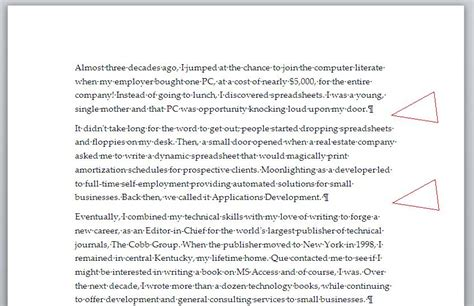 Exles How To Start An Essay by How To Remove The Spacing Between Paragraphs Techrepublic