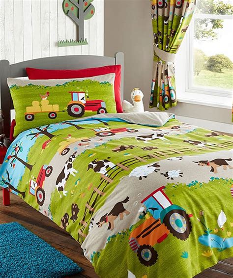 Wall Stickers For Childrens Bedroom farmyard toddler bedding set featuring all the animals on