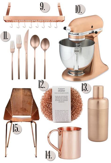copper kitchen accessories category 187 for the love of 171 brittanymakes