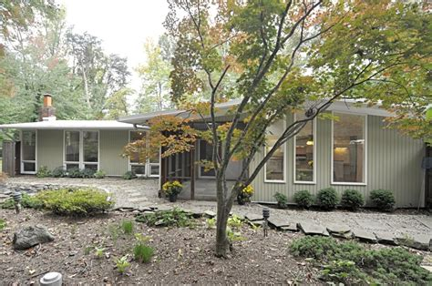 Small Homes For Sale Alexandria Va Hollin Mid Century Modern Oasis In Alexandria Va