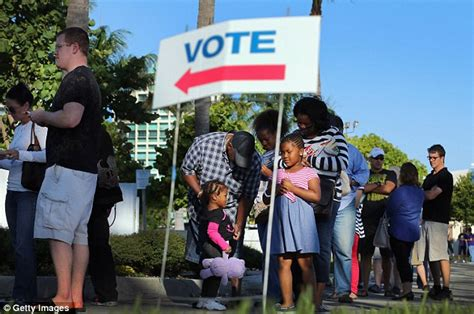 cast of swing vote early voting results give mitt romney a boost as more