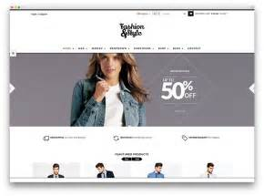 fashion store template 40 beautiful responsive shop themes 2017