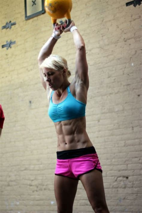 6 Pack Abs And Kettlebell Swings Crossfit Girls Who Have