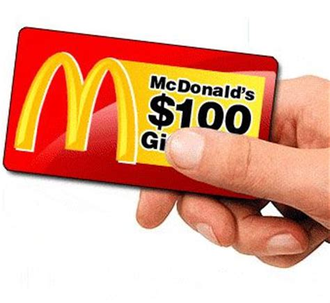 Gift Card Mcdonalds - 25 best ideas about mcdonalds gift card on pinterest gift card holders amazon
