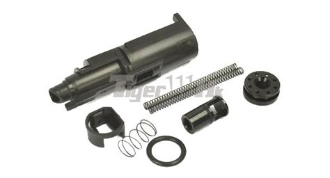 Aip Loading Nozzle For Marui G17 Gbb thunder airsoft loading nozzle set for marui g17 black