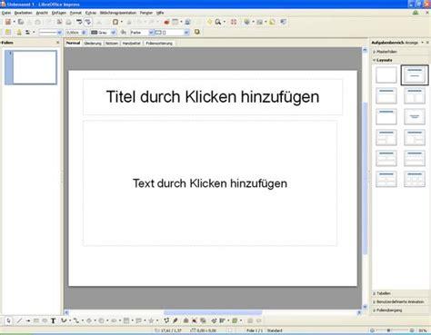 Impress Design Vorlagen libreoffice impress 3 5 eine einfache pr 239 191 189 sentation