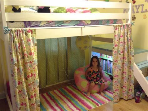 how to make bunk bed curtains 17 best images about loft beds on pinterest cool loft