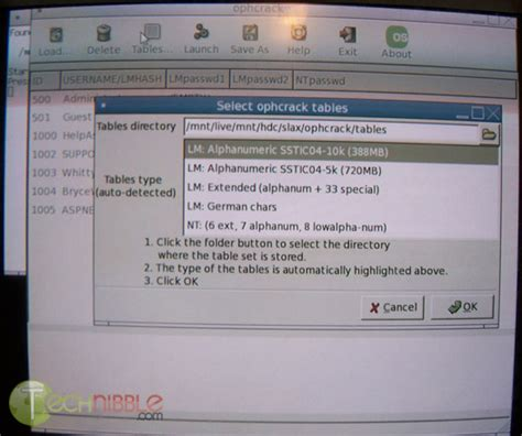how to use ophcrack for windows 8 ophcrack xp