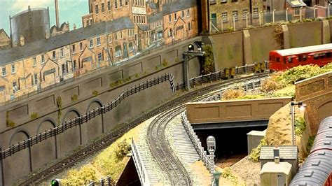 horn lane underground oo gauge model railway layout
