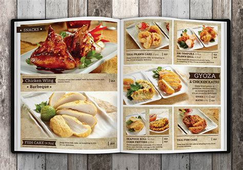 design menu book it s mie menu book design on behance