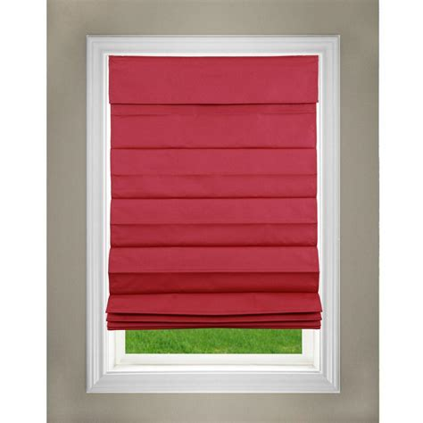 l shades lift window treatment cordless fabric shade 23 in w x 64 in l 3rrd230640