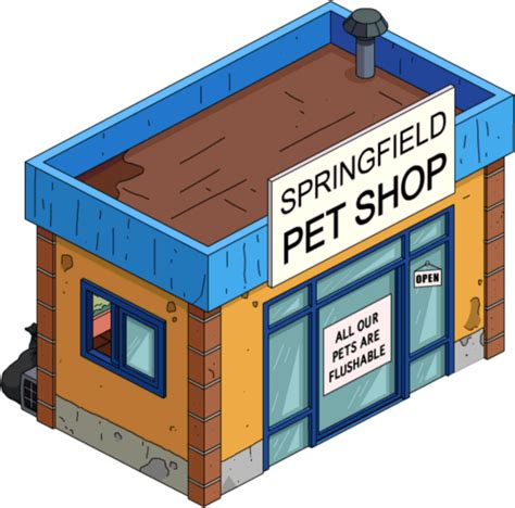 springfield pet shop the simpsons tapped out wiki