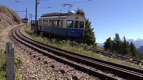 trenino a cremagliera ferrovia rigi kulm goldau cremagliera zahnradbahn
