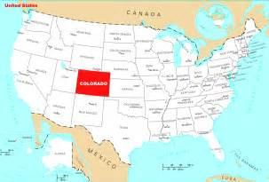 where is colorado located mapsof net
