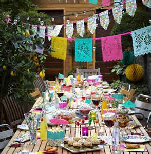 Decorating Ideas For Mexican Themed Brightly Coloured Mexican Wedding Theme Ideas