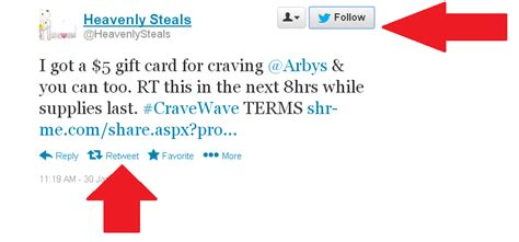 Where Can You Buy Arby S Gift Cards - update free 5 arby s gift card heavenly steals