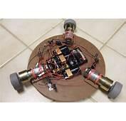 Dales Homemade Robots  Light Seeking Spinner