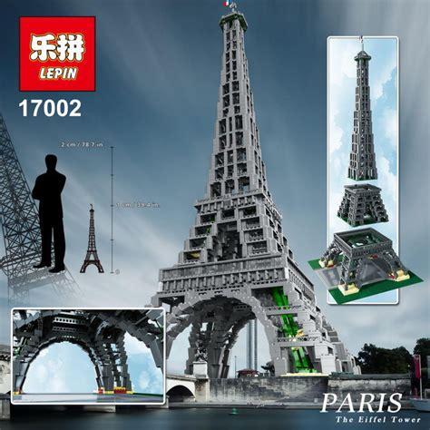 Mainan Eiffel Tower Loz 9361 tour lego promotion achetez des tour lego promotionnels