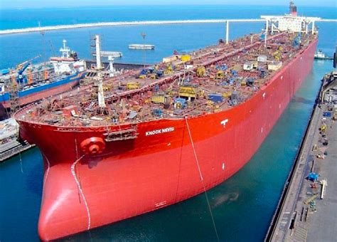 how long is the biggest boat in the world knock nevis largest oil tanker ever built sold motor