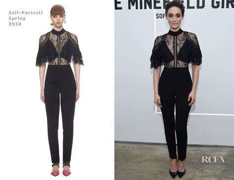 Catwalk To Carpet Emmy Rossum by Emmy Rossum In Self Portrait The Minefield Audio