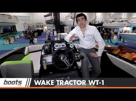 bryant boats wake tractor bryant wake tractor wt 1 first look video youtube